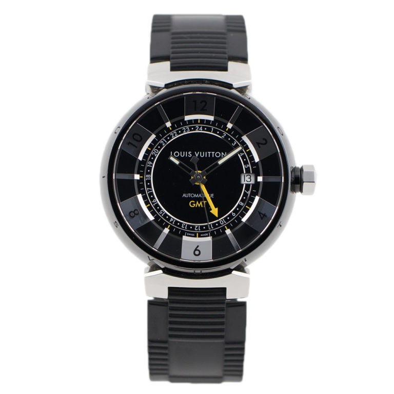 LOUIS VUITTON Q133K TAMBOUR GMT