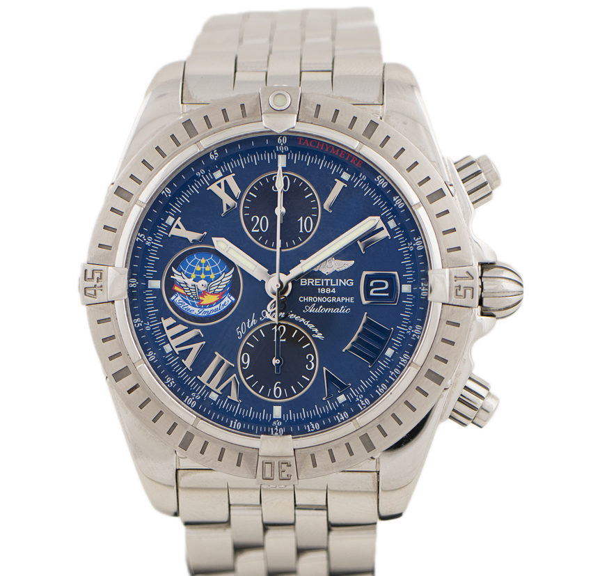 A13356 Chronomat Blue Impulse 50th anniversary
