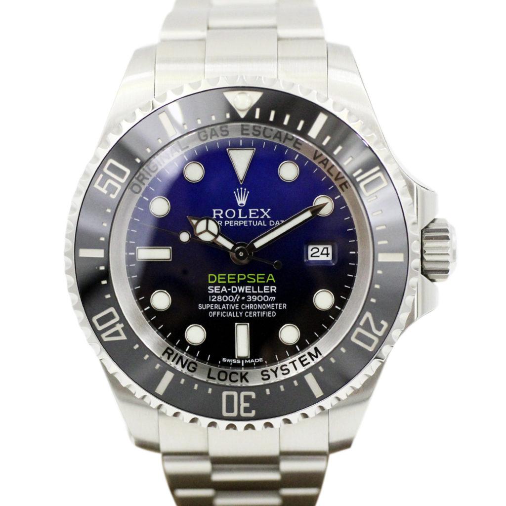 the best attitude 163d1 bc658 116660 シードゥエラー ディープシー Dブルー - リユース腕時計 ...