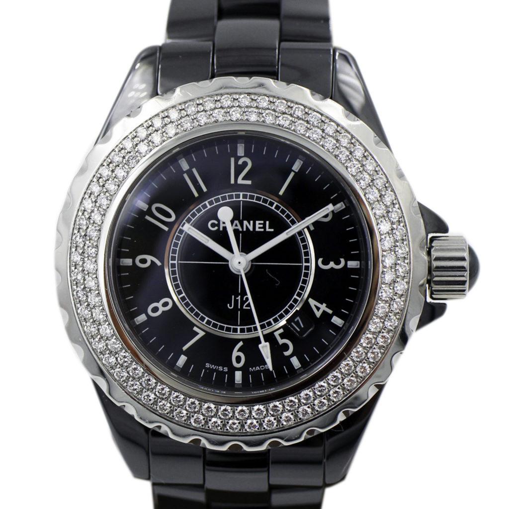 H0949 J12 鑲鑽錶圈