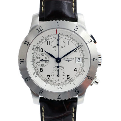 LONGINES L2.741.4 Heritage Weems Chronograph