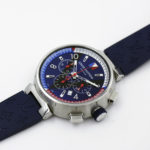 Louis Vuitton Q1A61 Tambour Leather Chronograph