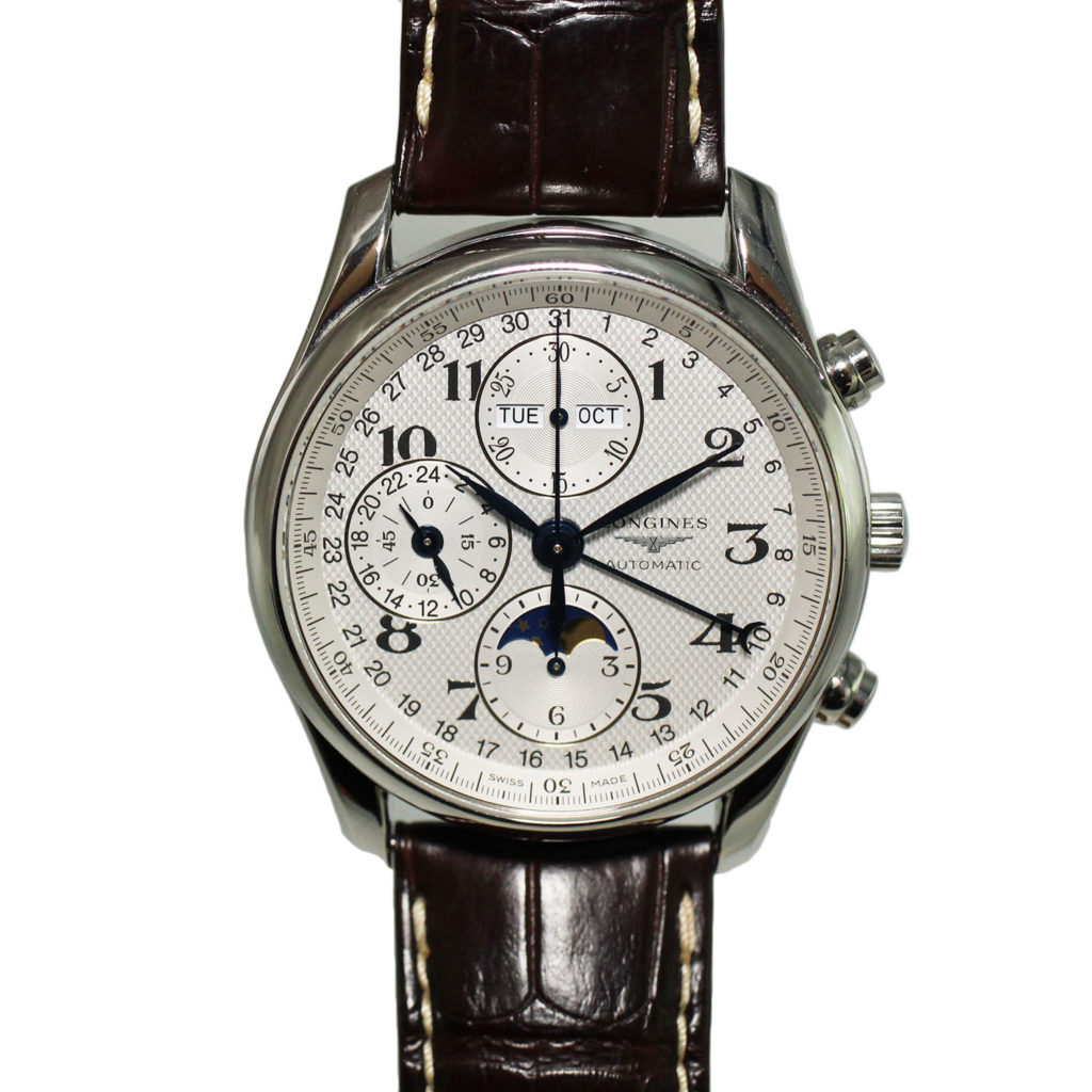 L2.673.4.78.5 Master Collection Chronograph Moon Phase