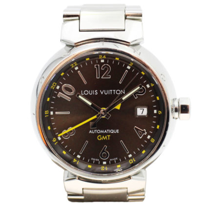 LOUIS VUITTON Q1131 Tambour GMT