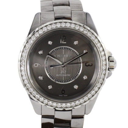 H2566 J12 Chromatic 38mm 8Diamonds