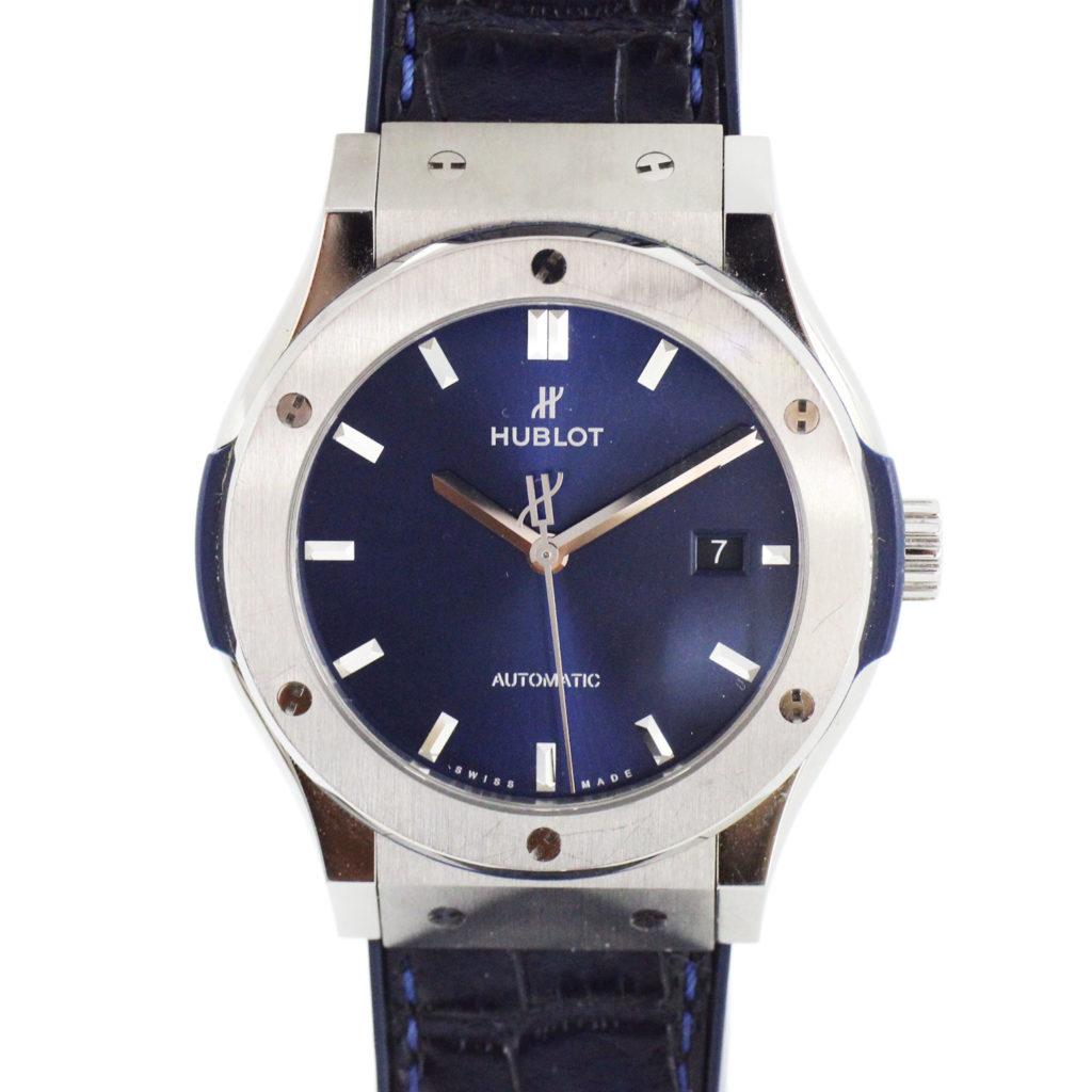 542.NX.7170.LR Classic Fusion Blue Titanium