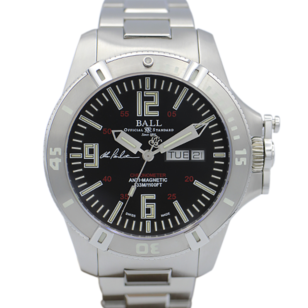 BALL DM2036A-S5CA-BK Engineer Hydrocarbon Spacemaster Captain Poindexter World Limited 1000 pcs 50258013