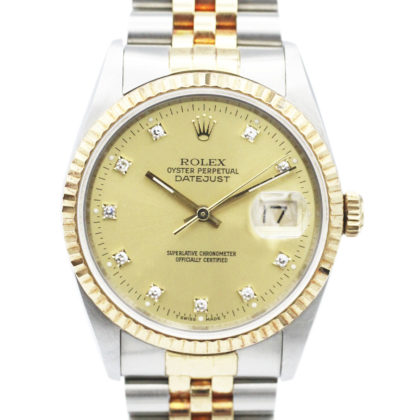 16233G  Datejust 10diamonds 55048989