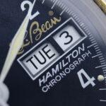 ハミルトン 9446 クロノグラフ L.L.Bean Wネーム クロノグラフ 50030038
