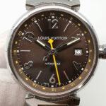 LOUIS VUITTON Q1131 Tambour GMT 88165002