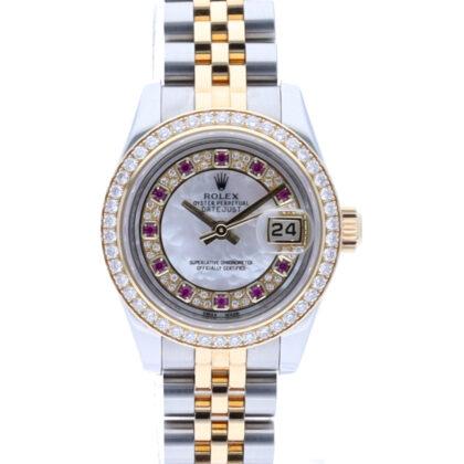 179383MG Datejust Diamond 11P Ruby G serial 56048363